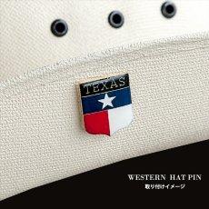 画像4: テキサス レンジャーズ ウエスタン ハットピン/Pins (4)