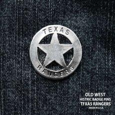 画像1: テキサス レンジャーズ ウエスタン ハットピン/Pins (1)
