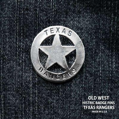 画像1: テキサス レンジャーズ ウエスタン ハットピン/Pins