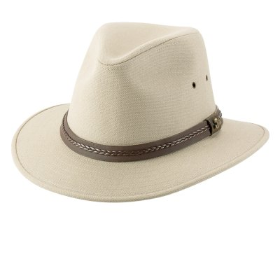 画像1: ブリットリ コットン ハット(タン)L/Brittoli Cotton Hat(Tan)