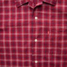 画像3: リーバイス 半袖 シャツ(レッド・ネイビー・ホワイト)/Levi's Plaid Shortsleeve Shirt (3)