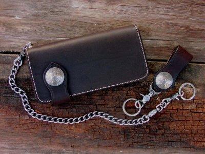 画像2: ファニー ライダースウォレット(ブラウン)/Funny Rider's Wallet(Brown)