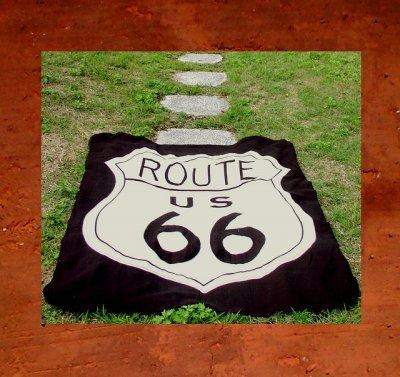 画像3: ルート66 フリース/Route66 Fleece Throw