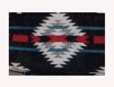 画像2: ペンドルトン・ウール・レザーペットキャリア(ブラックホワイト)/Pendleton Wool Leather Pet Carrier(Blk Wht)