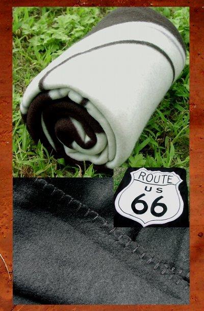画像2: ルート66 フリース/Route66 Fleece Throw