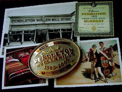 画像3: ペンドルトン バックル ハンドメイド リミテッドエディション(100周年記念限定)/Pendleton Limited Edition Belt Buckle