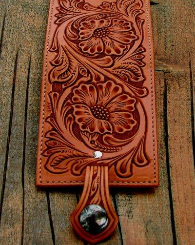 画像3: ファニー コインヘッド ビルフォード ハンドクラフト・Hand Craft(Tan Antique)/Funny Coin Head Billfold