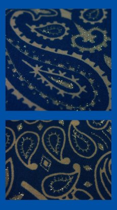 画像3: バンダナ ハバハンク HAV-A-HANK ペイズリー(ブルー・ホワイト)/Bandana Paisley  Blue White (3)