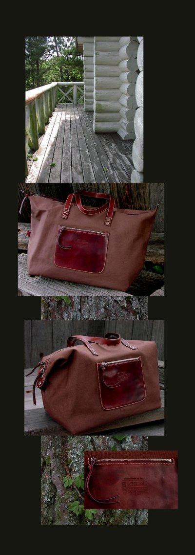 画像1: ペンドルトン トラベルバッグ/Pendleton Drifter Bag