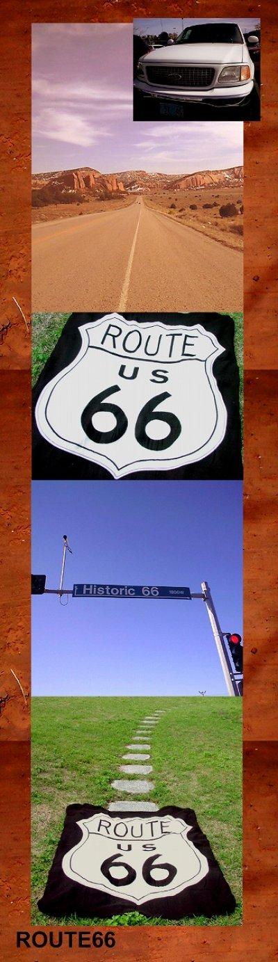 画像1: ルート66 フリース/Route66 Fleece Throw
