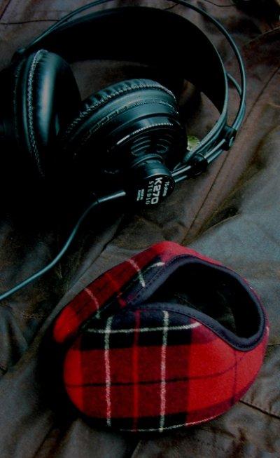 画像1: ペンドルトン イヤーウォーマー・100%ヴァージン ウール イアースナグ/Pendlton Ear Snugs(Brodie Tartan)