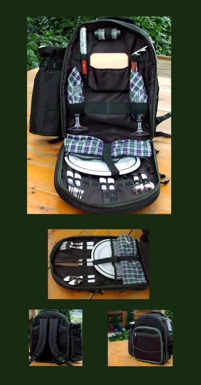 画像1: ピクニック バック パック/Picnic Backpack ForTwo