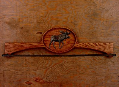 画像1: オーク ムース タオルハンガー/Oak Towel Hanger Moose