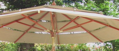 画像2: マーケットアンブレラ<大型ガーデンパラソル>&大型安定アンブレラベースセット