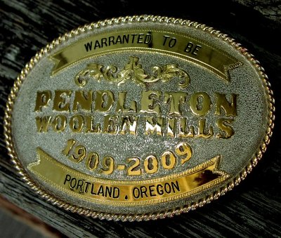 画像2: ペンドルトン バックル ハンドメイド リミテッドエディション(100周年記念限定)/Pendleton Limited Edition Belt Buckle