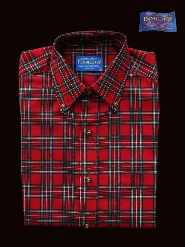 画像1: ペンドルトン サーペンドルトン ウールシャツ(The Stewart Tartan)/Pendleton Sir Pendleton Wool Shirt (1)