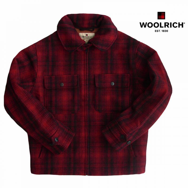 画像1: ウールリッチ ウール ジャケット(レッド ブラック)/Woolrich Wool Jacket(Red/Black) (1)