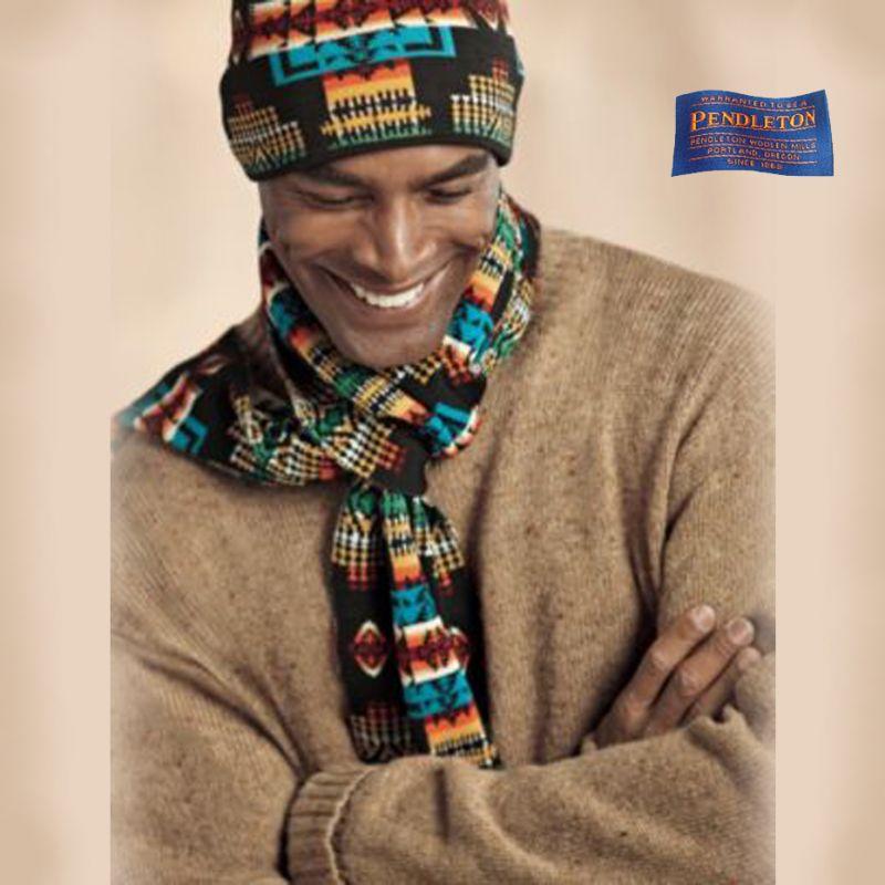 画像1: ペンドルトン シェトランドウール セーター(キャメル)/Pendleton Shetland Wool Sweater (1)