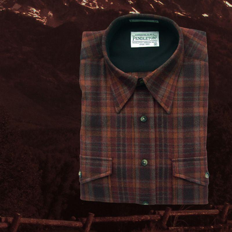 画像1: ペンドルトン アウトドア シャツ(ラスト プラッド)/Pendleton Outdoor Shirt (1)