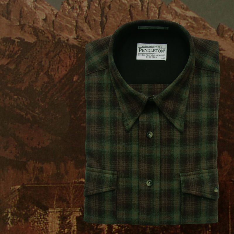 画像1: ペンドルトン アウトドア シャツ(グリーン プラッド)XL/Pendleton Outdoor Shirt (1)