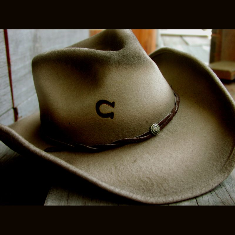 画像1: チャーリーワンホース ウェスタンハット(ビンテージブラウン)/Charlie 1 Horse Western Hat(Vintage Brown) (1)