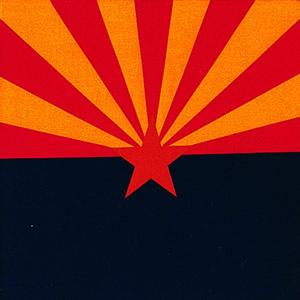 画像1: バンダナ アリゾナ州旗/Bandana ARIZONA FLAG (1)