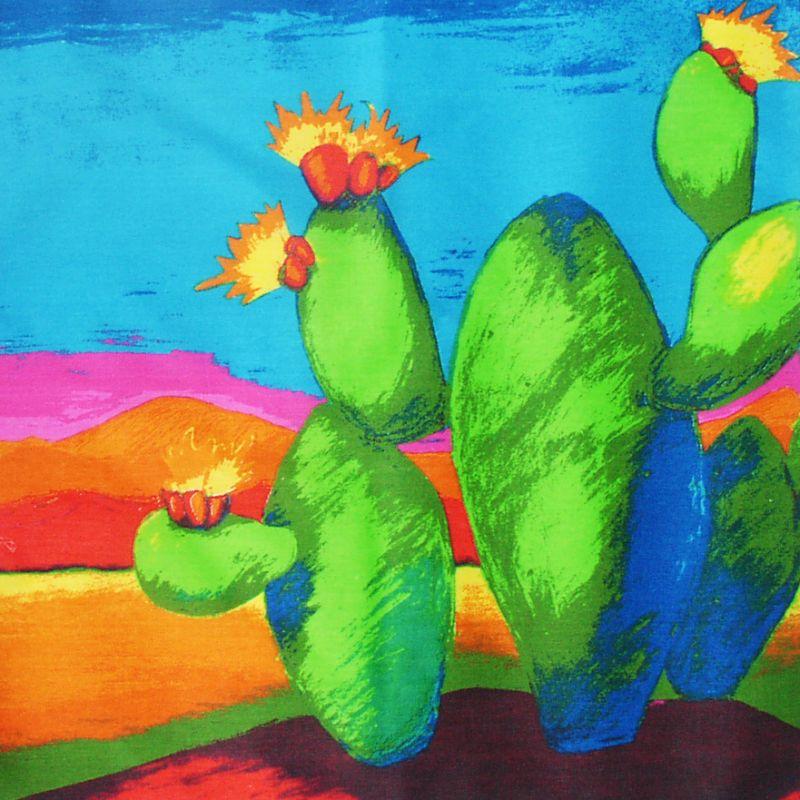 画像1: バンダナ ハバハンク HAV-A-HANK カクタス/Bandana Cactus (1)