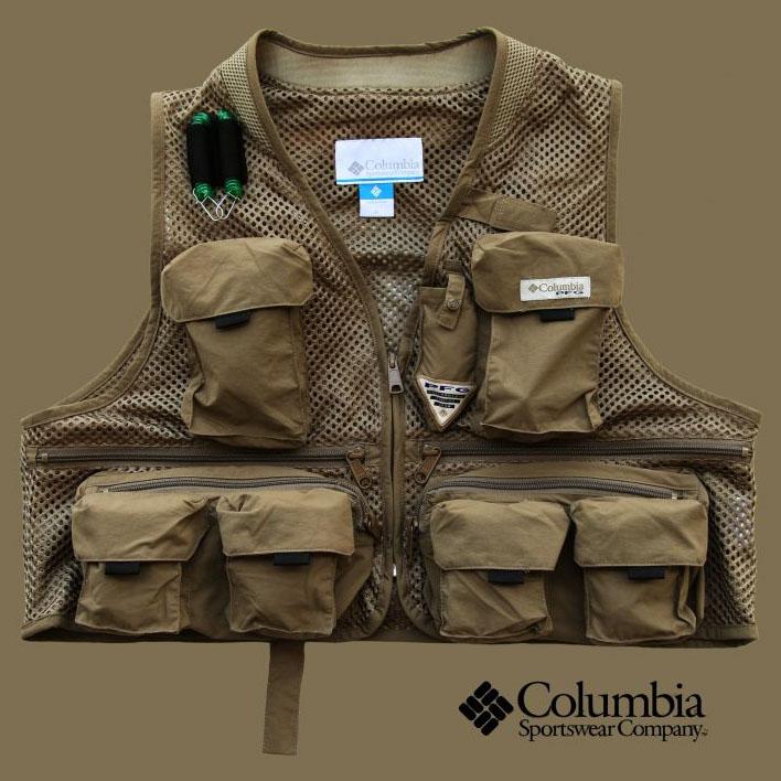 画像1: コロンビア クールクリーク メッシュ フィッシング ベスト/Columbia Cool Creek Mesh Fishing Vest (1)