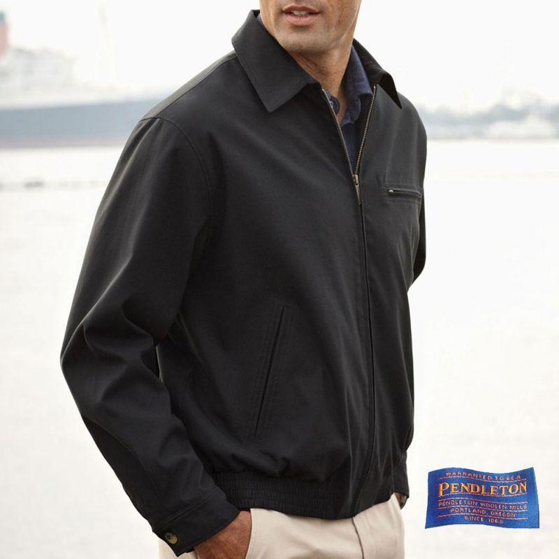 画像1: ペンドルトン ジャケット ブラック/Pendleton Jacket(Black)