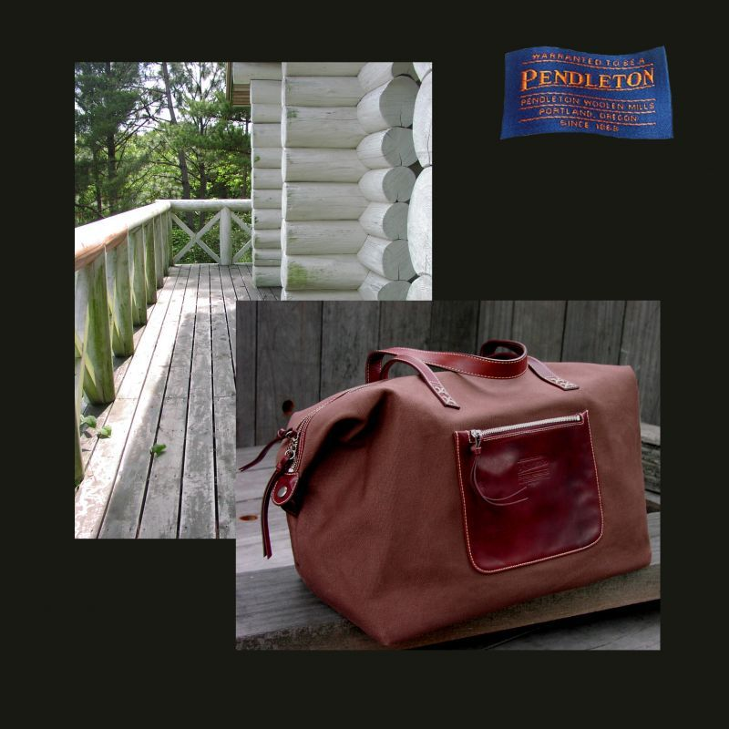 画像1: ペンドルトン トラベルバッグ/Pendleton Drifter Bag (1)