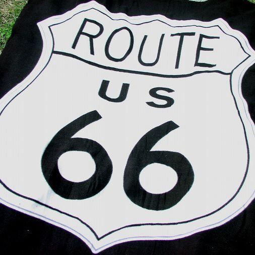 画像1: ルート66 フリース/Route66 Fleece Throw (1)