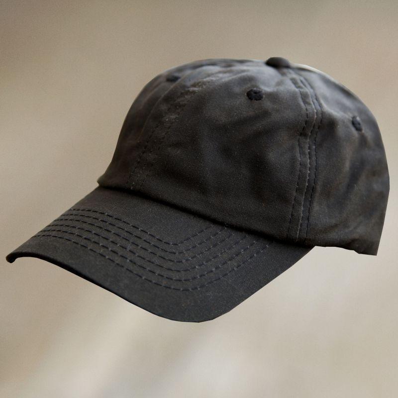 画像1: オイルフィニッシュ コットン キャップ ブラウン/Baseball Cap (1)