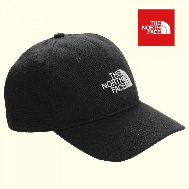 画像1: ザ・ノース・フェイス オーガニックコットン ロゴ キャップ(ブラック)/The North Face Logo cap(Black)