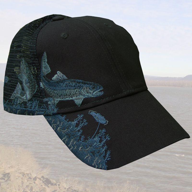 画像1:  トラウトフィッシング 刺繍 キャップ/Fishing Cap (1)