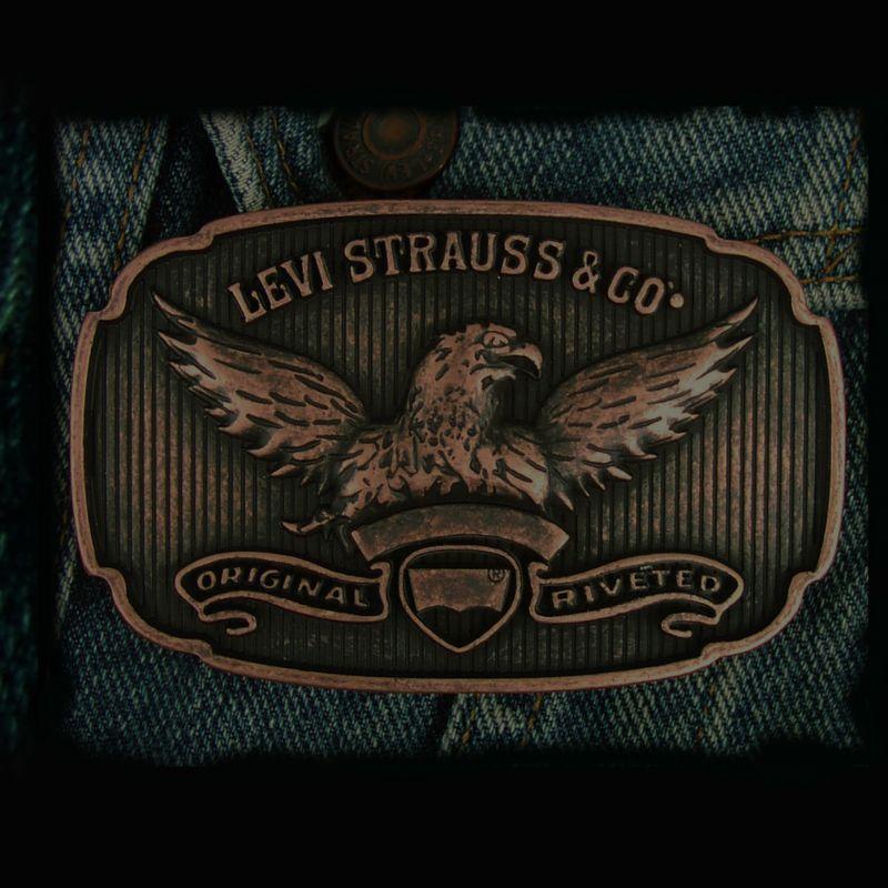 画像1: リーバイス バックル イーグル/Levi Strauss&Co Buckle