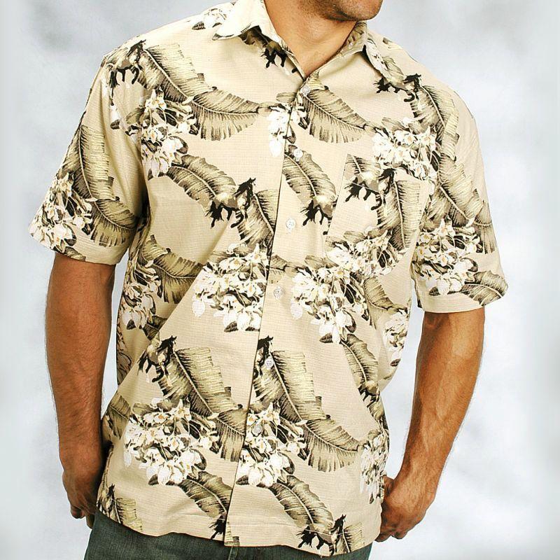 画像1: キャンプ シャツ(サンド/半袖)/Short Sleeve Camp Shirt