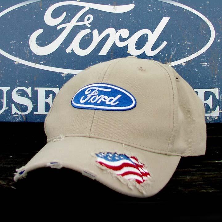 画像1: フォード ビンテージキャップ/Ford  Cap (1)