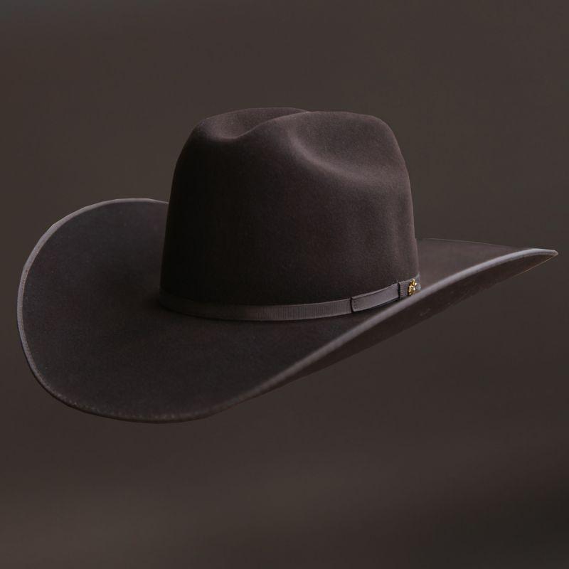 画像1: ベイリー ウール カウボーイ ハット(ブラウン)/Bailey Wool Cowboy Hat(Chocolate)