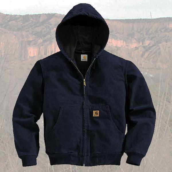 画像1: カーハート アクティブ ジャケット(ダークネイビー)/Carhartt Active Jacket