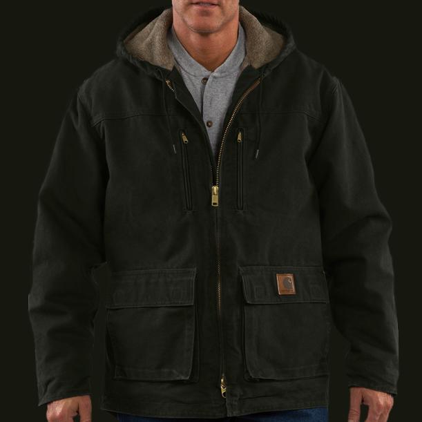 画像1: カーハート ジャクソン コート(モスグリーン)S/Carhartt Jackson Coat(Moss)