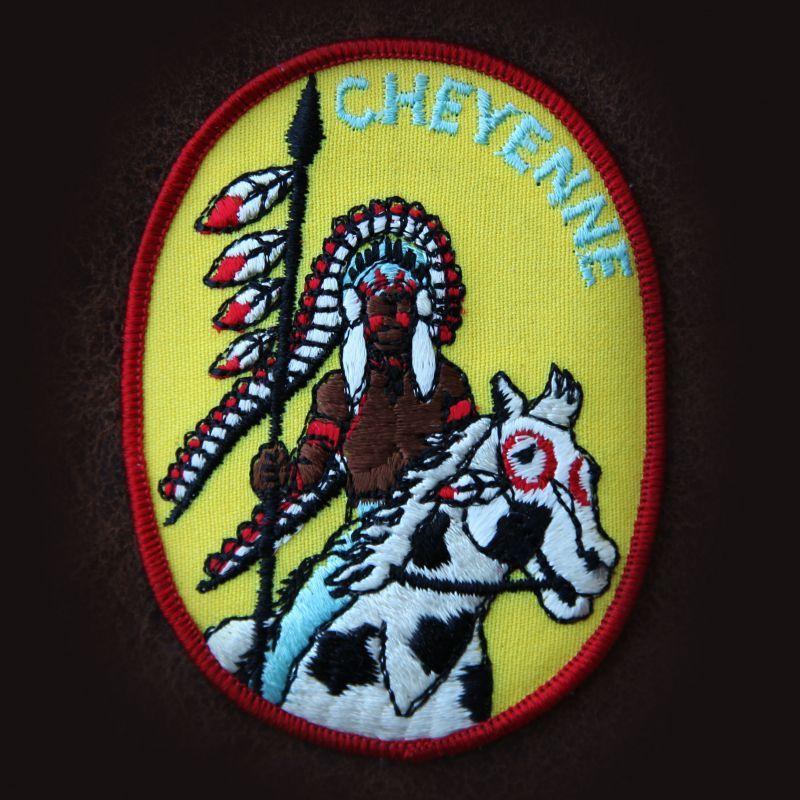 画像1: ワッペン インディアン シャイアン CHEYENNE /Patch