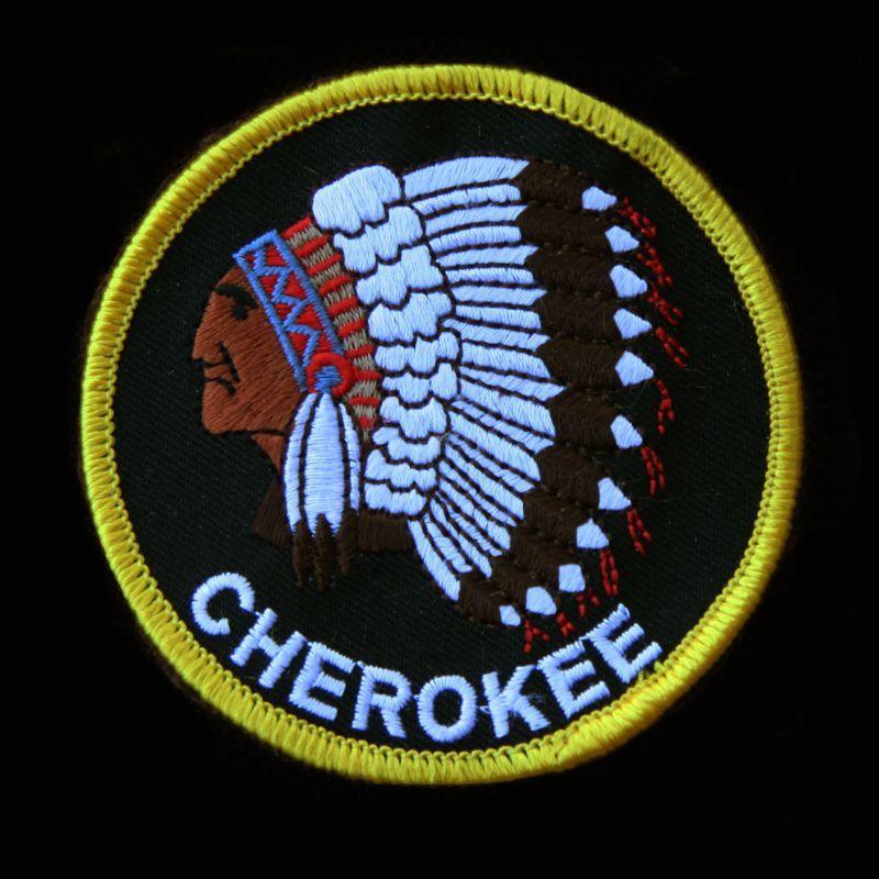 画像1: ワッペン インディアン チェロキー CHEROKEE/Patch