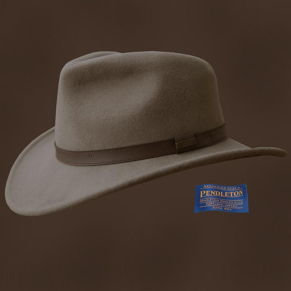 画像1: ペンドルトン アウトバック ハット(パテ)/Pendleton Outback Hat(Putty)