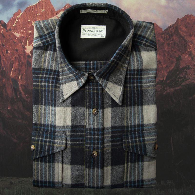 画像1: ペンドルトン アウトドア シャツ(ブルー・グレー)XXL/Pendleton Outdoor Shirt