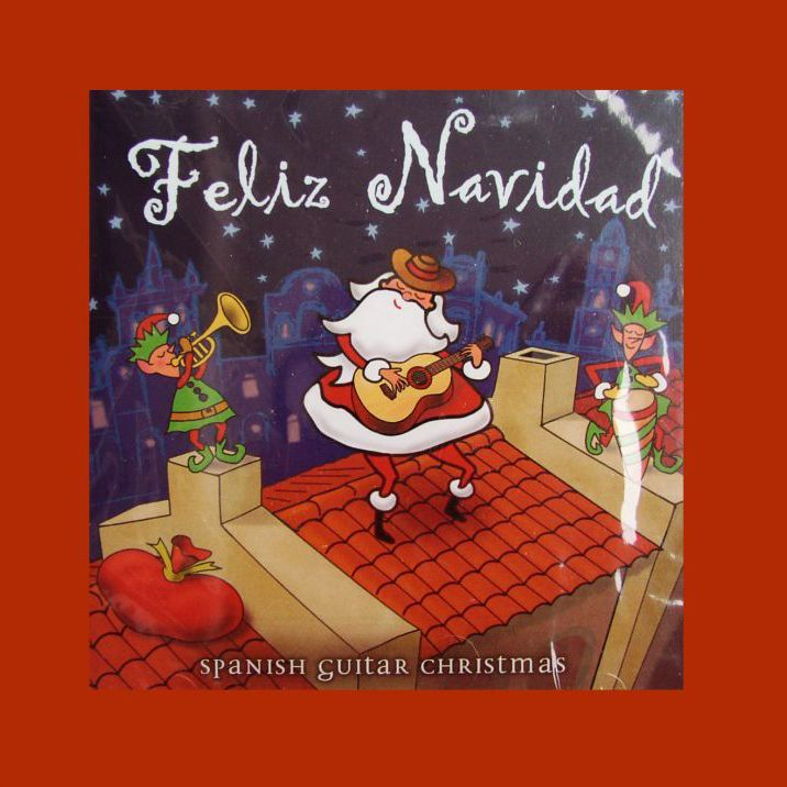 画像1: クリスマス CD スパニッシュギターークリスマス/Feliz Navidad Spanish Guitar Christmas