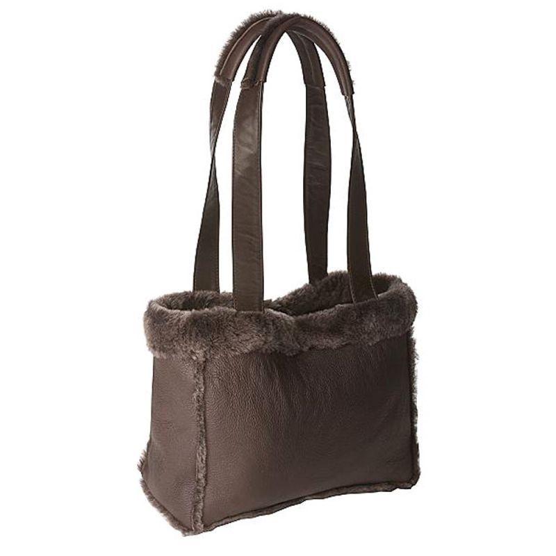 画像1: ラムスキン ショルダーバッグ/Lambskin Shoulder Bag