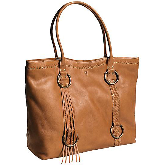 画像1: FRYE フリンジトートバッグ(コニャック)/FRYE Tote bag(Cognac/Women) (1)