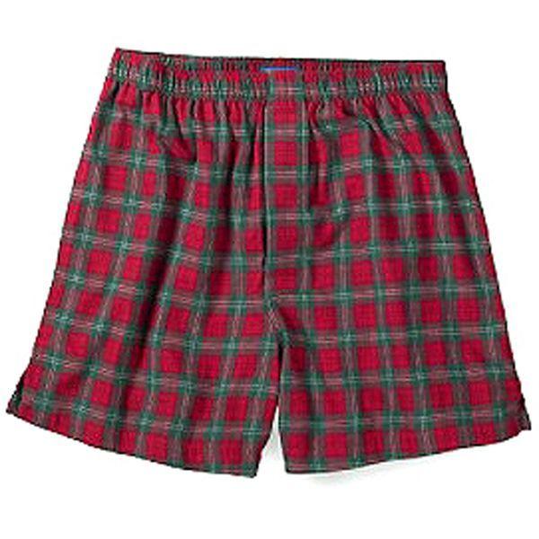 画像1: ペンドルトン ラウンジ ショーツ(レッド・グリーン)/Pendleton Shorts(Red Green) (1)