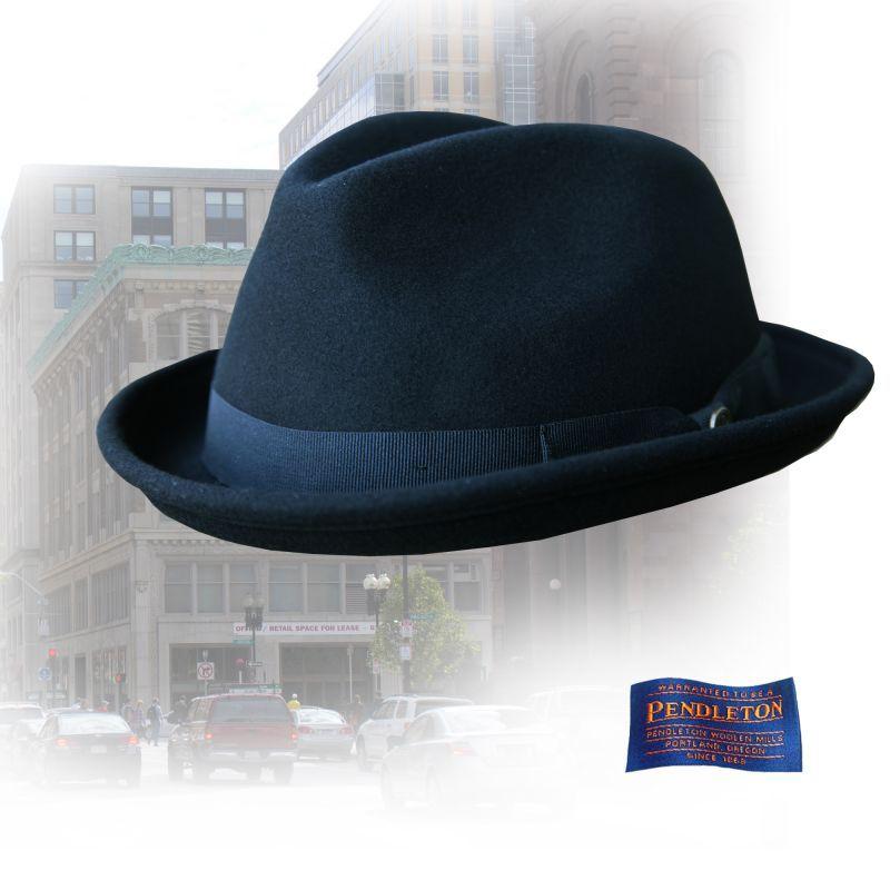 画像1: ペンドルトン スティンジー ブリム ハット(ブラック)L/Pendleton Stingy Brim Hat(Black)  (1)