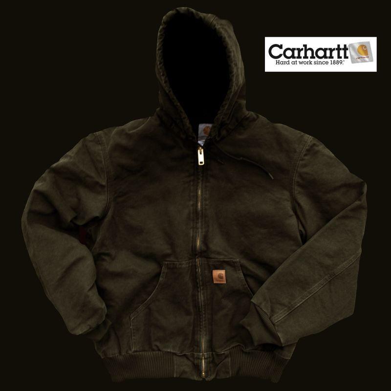 画像1: カーハート アクティブ ジャケット モスグリーン/Carhartt  Active Jacket (1)